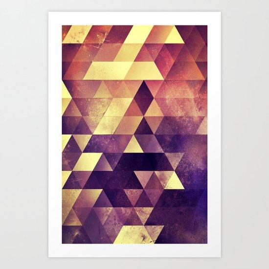myyk lyyv Art Print