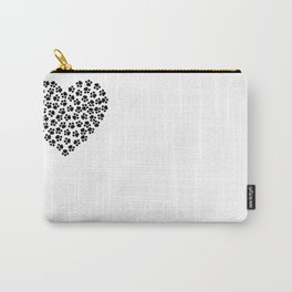 Paw Print Love Carry-All Pouch