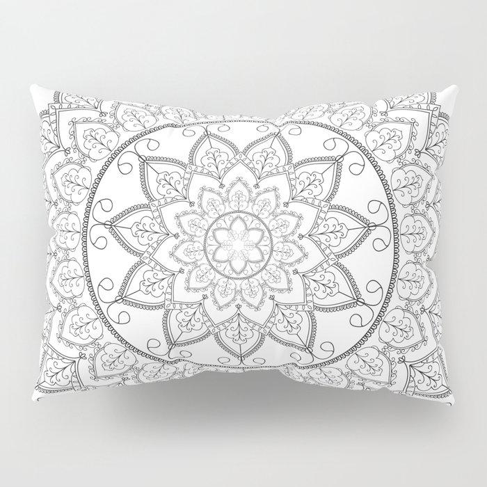 Lace Mandala Pillow Sham