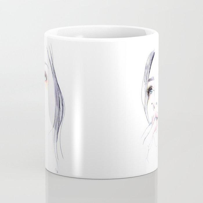 Ivy Levan | Watercolor Beauty Coffee Mug
