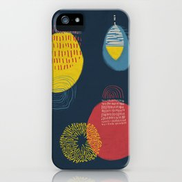 Colour and pattern - Abstract 1 iPhone Case