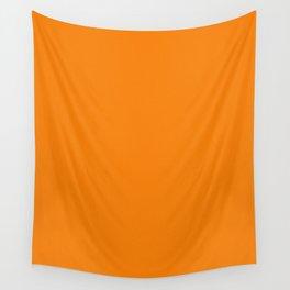 Orange Light Pixel Dust Wall Tapestry