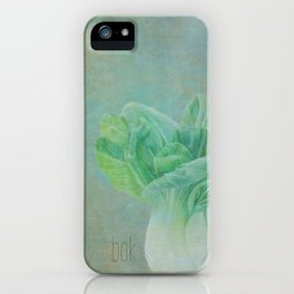 Bok Choy Still Life  iPhone Case