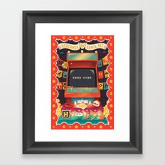 Ofrenda a las arcades Framed Art Print