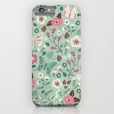 Garden Butterflies Slim Case iPhone 6