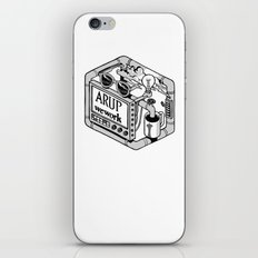 Arup WeWork West Project Patch iPhone Skin