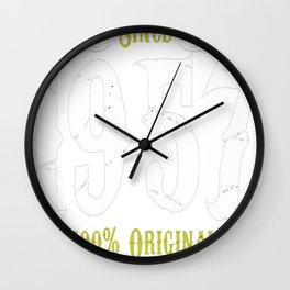 Making-History-Since-1957-Premium-Style-Tshirt-T-Shirt Wall Clock