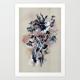 Decay (Full) Art Print