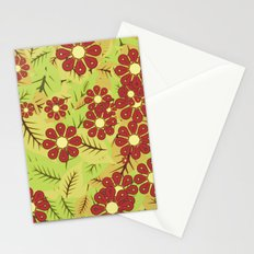 Foliage and flowers Stationery Cards