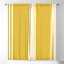 Marigold & Crème Vertical Gradient Blackout Curtain