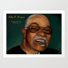 Billy F. Rodgers Art Print
