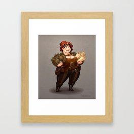 Lady Calpurnia Oxboxer Framed Art Print