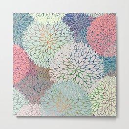 Abstract Floral Petals 3 Metal Print