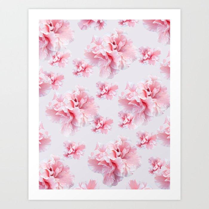 Pink Azalea Flower Dream #1 #floral #pattern #decor #art #society6 Kunstdrucke