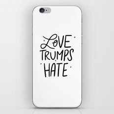Love Trumps Hate iPhone & iPod Skin