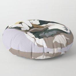Diesel in Grey Floor Pillow