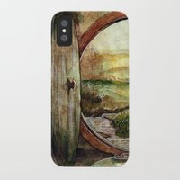 tolkien iPhone & iPod Cases featuring The World is Ahead by Kinko-White