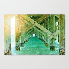 Sun Under the Bridge Canvas Print