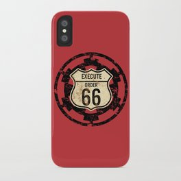 Execute Order 66 iPhone Case