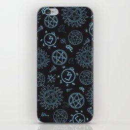 Supernatural Sigils iPhone Skin