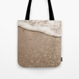 Sparkling Diamond Beach Tote Bag