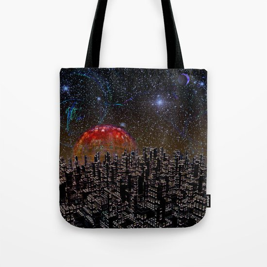 Blood Moon Rising Tote Bag