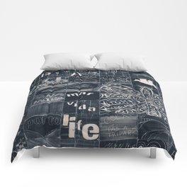 Urban art Comforters