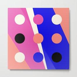 Pattern Mix No.1 (Dots) Metal Print