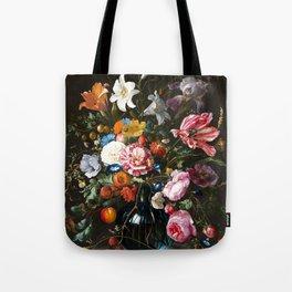 "Jan Davidsz. de Heem ""Still life with Flowers"" Tote Bag"