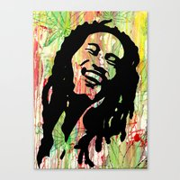 marley Canvas Prints featuring Marley by Katie Mont