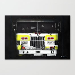 Engine number 2 Canvas Print