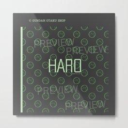 Haro Pattern Metal Print