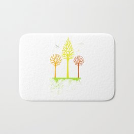 Unsteady Ground Bath Mat