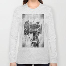 Vickers Machine Gun Vintage Long Sleeve T-shirt