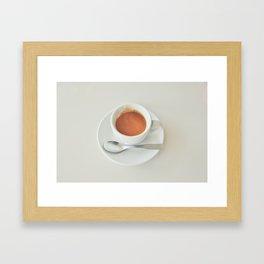 Espresso Demitasse Framed Art Print