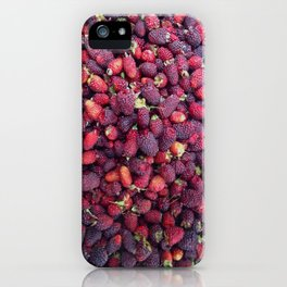 Berries in Paloquemao - Bayas en Paloquemao iPhone Case