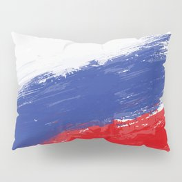 Russia's Flag Design Pillow Sham