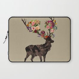 Spring Itself Deer Flower Floral Tshirt Floral Print Gift Laptop Sleeve