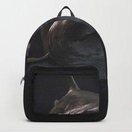 Gray Shark Backpack