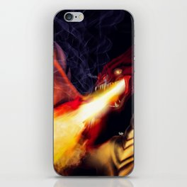 Fire Breather iPhone Skin