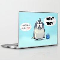 yeti Laptop & iPad Skins featuring Yeti by Mr Meowmer