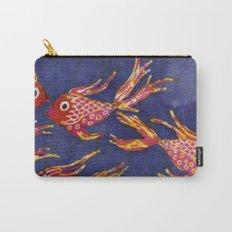 Goldfish batik Carry-All Pouch
