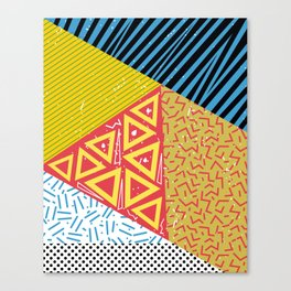 Memphis Three Canvas Print