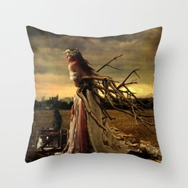 Ripe With Decay Throw Pillow
