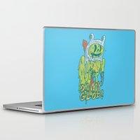 finn Laptop & iPad Skins featuring Zombie Finn by zinodaur