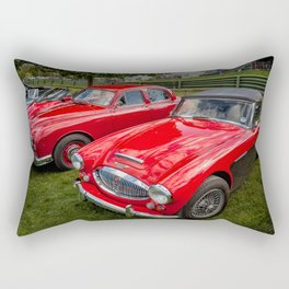Austin Healey 3000 MK3 Rectangular Pillow