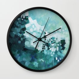 Slide Wave Wall Clock
