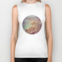 chicago Biker Tanks featuring Chicago by lizzy gray kitchens