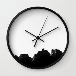 Badlands III Wall Clock