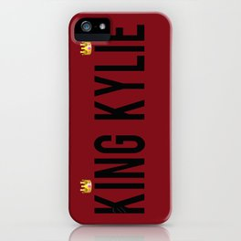 KING KYLIE - Mary Jo K iPhone Case
